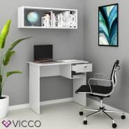 VICCO 'Colin' Schreibtisch, Weiß