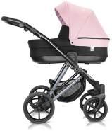 Milu Kids Vivaio Less Kombikinderwagen 2in1 viv 03-02 rosa/schwarz