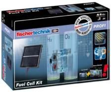 Fischertechnik Fuel Cell Kit 520401, Ergänzungsset zum Experimentierbaukasten Oeco Energy, Solarmodul ebenfalls enthalten