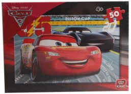 Puzzle Disney Cars Piston Cup rot 50 Stück