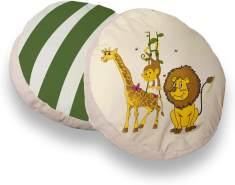 Ticaa 'Safari' 2-tlg. rundes Kissen-Set