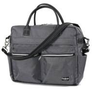 Emmaljunga Wickeltasche Travel Lounge Grey Kollektion 2021