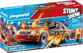 Playmobil® Stuntshow 70551 'Stuntshow Crashcar', 60 Teile, ab 4 Jahren