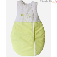 EASY BABY Schlafsack Molton 90 cm BUTTERFLY GREEN