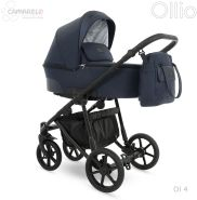 Camarelo Ollio 3in1 Kombikinderwagen Ol 4 dunkelblau