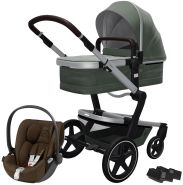 Joolz 'Day+' Kombikinderwagen Marvellous Green inkl. Cybex Cloud Z Plus Babyschale Khaki Green