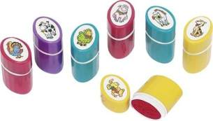 Stempel Tiere Oval