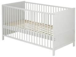 Alvi 'Jens' Kindersprossenbett - Buche - 70x140 Silbergrau