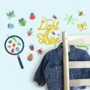 RoomMates Wandtattoo 'Farbenfrohe Insekten'