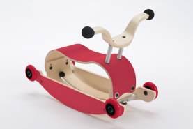 Wishbone Mini-Flip 3in1 Rutschfahrzeug Red