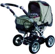 Sunnybaby 10369 Insektenschutznetz für Kinderwagen, komplett geschlossenes Modell - Farbe: SCHWARZ