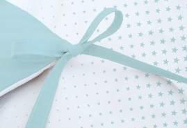 Pinolino 'Running Stars' Nestchen für Kinderbetten hellblau