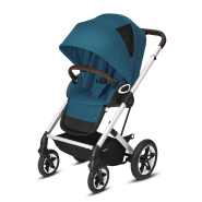CYBEX Gold 'TALOS S LUX' Buggy 2021 Silver/River Blue