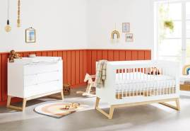 Pinolino 'Bridge' 2-tlg. Kinderzimmer-Set 70x140 cm, breit