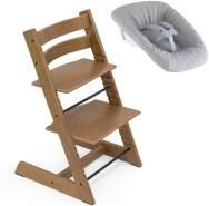 Stokke Tripp Trapp Treppen Hochstuhl inkl. Newborn Set Oak Brown