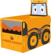 JCB Muddy Friends Joey Spielzeugkiste Spielzeugbox