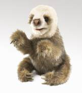 Folkmanis Faultierbaby / Baby Sloth
