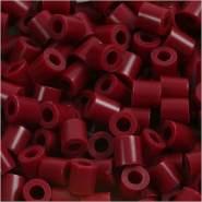 Bügelperlen, Größe 5x5 mm, Lochgröße 2,5 mm, Weinrot 4, Medium, 6000 Stück