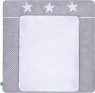 LULANDO 'White Dots /Grey Stars' 76 x 76 cm grau/weiß