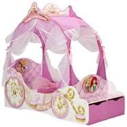 Moose Toys Disney Prinzessin Kutschenbett 70x140 inkl. Baldachin