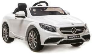 """Kinder Elektro Auto Mercedes Benz AMG S63 Elektroauto 2x35W 12V 2. 4G Fernbedienung"""