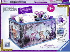 Ravensburger - 3D Puzzles - Girly Girl Edition - Aufbewahrungsbox - Animal Trend, 216 Teile