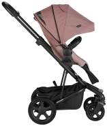 Easywalker Harvey 2 All-Terrain Kinderwagen Modell 2019 Bundle Angebot Desert Pink