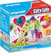 Playmobil City Life 70595 'Fashion Girl mit Hund', 20 Teile, ab 5 Jahren