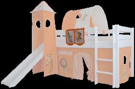 Mobi Furniture Betttasche Dschungel für Hochbett