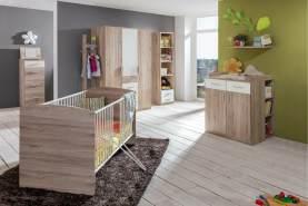 Stylefy Lio Kinderzimmer-Set VII Sanremo Eiche Weiß