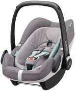 Maxi-Cosi Pebble Plus i-Size Concrete Grey Kollektion 2017