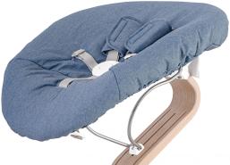 Evomove 'Nomi Baby' Matratze für Neugeborenenaufsatz, Premium Chambray