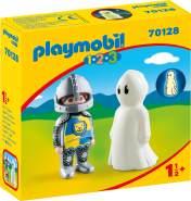 Playmobil 1.2.3 70128 'Ritter mit Gespenst', 2 Figuren, ab 1,5 Jahren