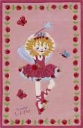 Teppichwelten Kinderteppich 'Prinzessin Lillifee' 110 x 170 cm rosa