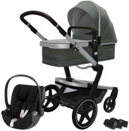 Joolz 'Day+' Kombikinderwagen Marvellous Green inkl. Cybex Cloud Z Plus Babyschale Deep Black