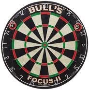 Bull's - Focus Bristle Dartboard