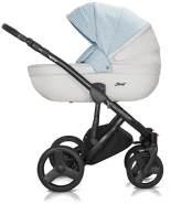 Milu Kids Starlet EKO Kombikinderwagen 2in1 STA-61 weiß/hellblau