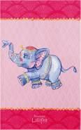 Böing Carpet 'Prinzessin Lillifee - Elefant Babou' Kinderteppich rosa, 100x160 cm