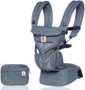 Ergobaby Babytrage Omni 360° Cool Air Mesh Oxford Blue