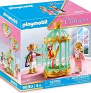 Playmobil Princess 9890 'Königskinder mit Papageinkäfig', 14 Teile, ab 4 Jahren