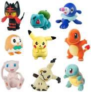 Pokemon T19290 'Pokémon Plüsch' sortiert, 1 Stück, Auswahl erfolgt zufällig