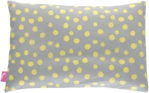 Motherhood 'Kleckse' Kinderkopfkissen gelb