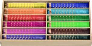 Lyra - Groove slim Holzkasten mit 144 Farbstiften, Sortiert