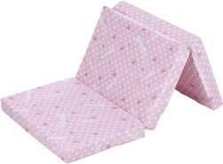 Alvi 'Komet' Reisebettmatratze Exclusiv 60 x 120 cm rosa