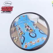 Mickey Mouse Kinderbettwäsche blau