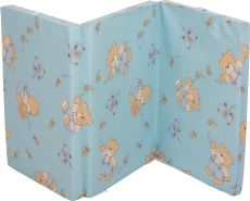 Fillikid 'Exclusiv' Reisebettmatratze 60 x 120 cm blau