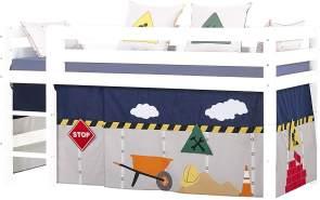Hoppekids 'Construction' Vorhang für Spielbett oder Etagenbett 90x200 cm