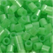 Bügelperlen, Größe 5x5 mm, Lochgröße 2,5 mm, Perlmuttgrün 22, Medium, 6000 Stück