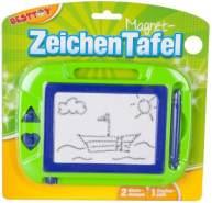 Besttoy Magnet Zeichentafel blau-grün