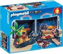 PLAYMOBIL - Piratenschatzkoffer 5347